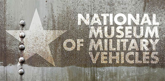 national museum of military vehicles logo